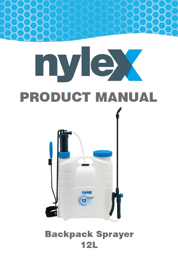 Product Manual: 12L Backpack Sprayer