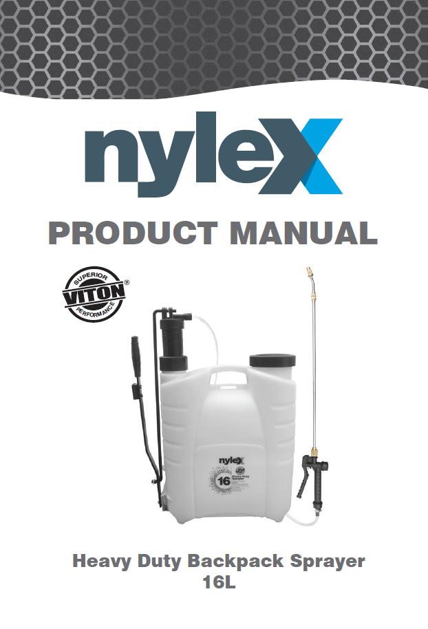 Product Manual: 16L Heavy Duty Backpack Sprayer – Viton