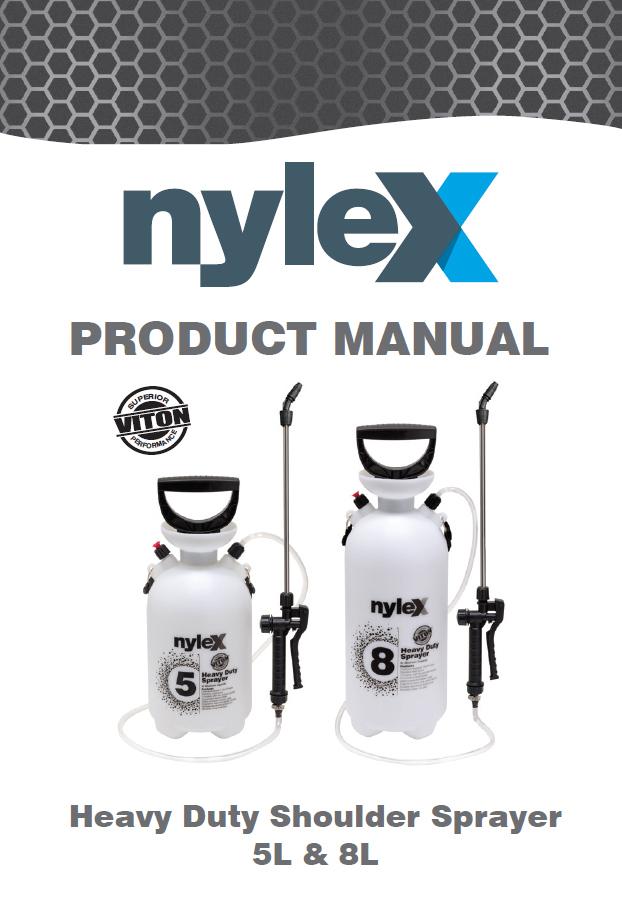 Product Manual: 5L & 8L Heavy Duty Shoulder Sprayer – Viton