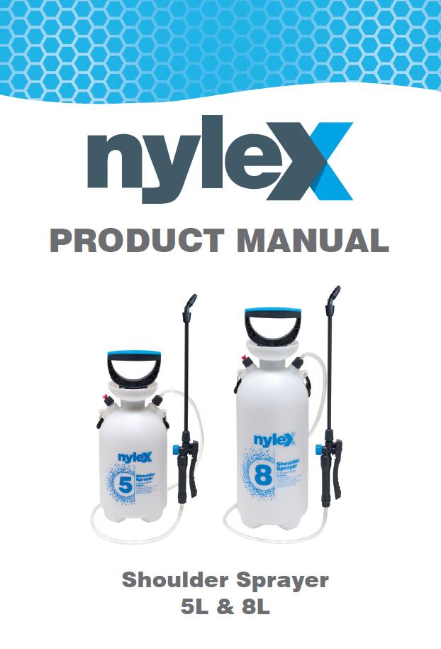 Product Manual: 5L & 8L Shoulder Sprayer