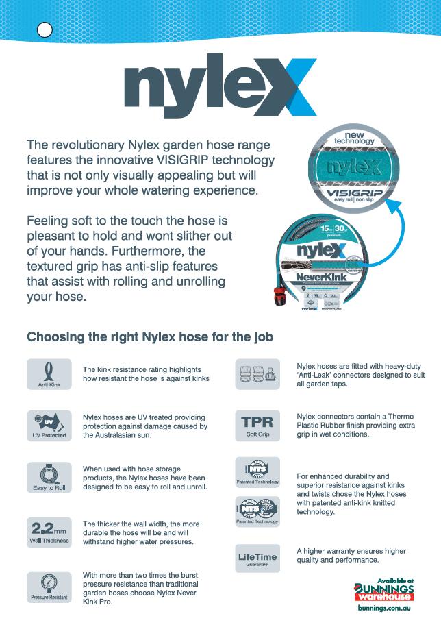 How to Choose a Nylex Garden Hose?
