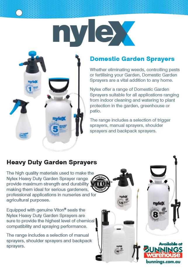 How to Choose a Nylex Garden Sprayer?