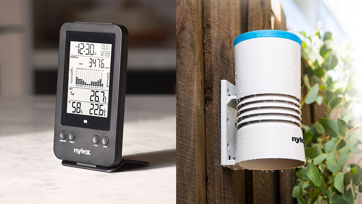 NEW – Nylex Digital Rain Gauge